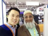 Customer In Shanghai Exhibition
