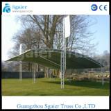 Aluminum truss for car paking outdoor roof truss