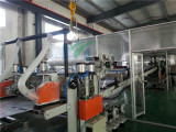 Polycarbonate co-extrused machine production line with top technology
