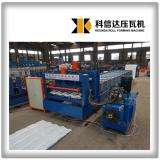 KXD servo motor glazed roofing tile roll forming machine