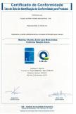 Inmetro Certificate