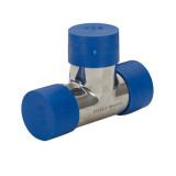 Plastic pipe end cap
