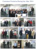 Customers visit us season I 2014