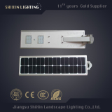 Best Price Guaranteed all in one integrated solar street lighting