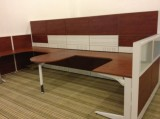 Tile base workstation--Chuangda Showroom