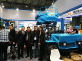 Old customer visit our booth for 2016 Shanghai Bauma Exxhibition
