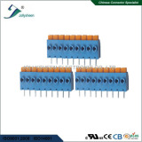 PCB Sprin terminal blocks pitch 5.0mm connector,compliant with CE,Rohs,UL,IEC standard