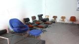 Modern Chair in Showroom