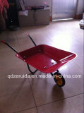 Red Color Kids Wheel Barrow