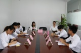 Our team debate competition for sales in the company