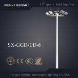 18m Outdoor High Mast Lighting with LED Flood Light