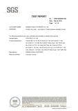 TEST REPORT -SGS