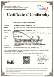Stage Lighting Series RoHS Certificates[Apr 19,2016]