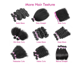 Luxury brazilian hair extension,virgin remy human hair,straight,body wave,deep wave,afro curl,kinky
