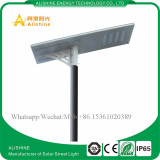 100w all in one solar led street light with LiFePO4 Lithium battery