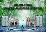 Chunke 1.5 t/h Ro Drinking Water Purification System Equipment