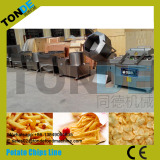 potato chips production line exported to Angola
