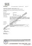 neoprene SGS certificate