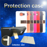 Second Generation 2 in 1 PC+TPU Cell Phone Case with Clip and Card Pockets