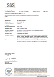 RoHs-SGS Certificate for the Surveying Prism - GEOLAND