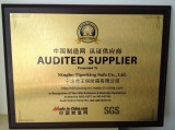 Supplier Assessment by SGS
