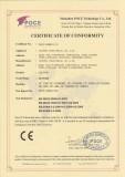CE certification!