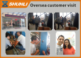 Oversea customer visit and make the container order after confirm the sample.