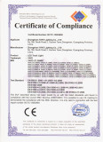 CE Certificate for LED Track Light