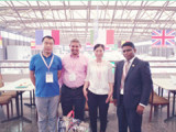Meeting Customer on Sial Exhibition