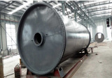 external gear pyrolysis equipment for tyre and rubber