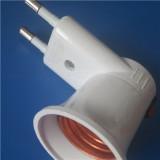 European plug transfer to E 27 lampholder