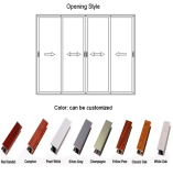 Feelingtop aluminum door color choice