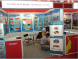 weifang Baite Magnet Technology Co., Ltd attended the Jakarta Mining Exhibition in 2014