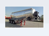 Light Weight Aluminum Alloy Tanker Trailer, Bulk Powder Tank Trailer