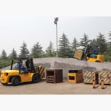 Testing line for forklift