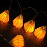 Paper Water-Drop Shaped LED Decorative Light (26-1P1610)