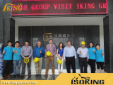 Clients from Mexico Visit our IKING GROUP