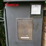 Door phones KNZD-06 kntech on site installation