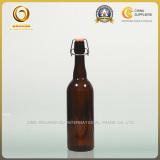 Long neck 750ml amber beer bottle