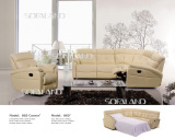leather sofa bed 865#