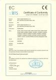 EC Certificate of Conformity