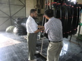 Mideast Customer Visits Our Company