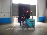 Forklift working