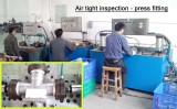 Press fitting inspection
