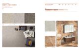 Carpet tile & rustic tile