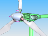 How many safety measure are there for ANE pitch controlled wind turbines?