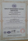 ISO 9001:2008 Certificate Design Manufacture and Service