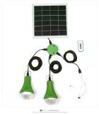 9w solar panel solar home lighting system kit usb charger