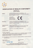 CONFORMITE EUROPEENNE CE Certificate