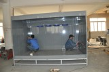 Production for powder coating booth process